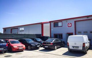 Administratívna budova s príručným skladom – Bratislava