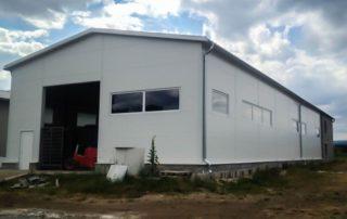 Administratívno-výrobná hala – Huncovce, Kežmarok