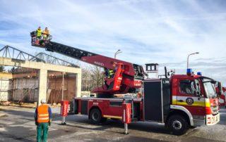 Garáže pre hasičskú stanicu – Nové Zámky