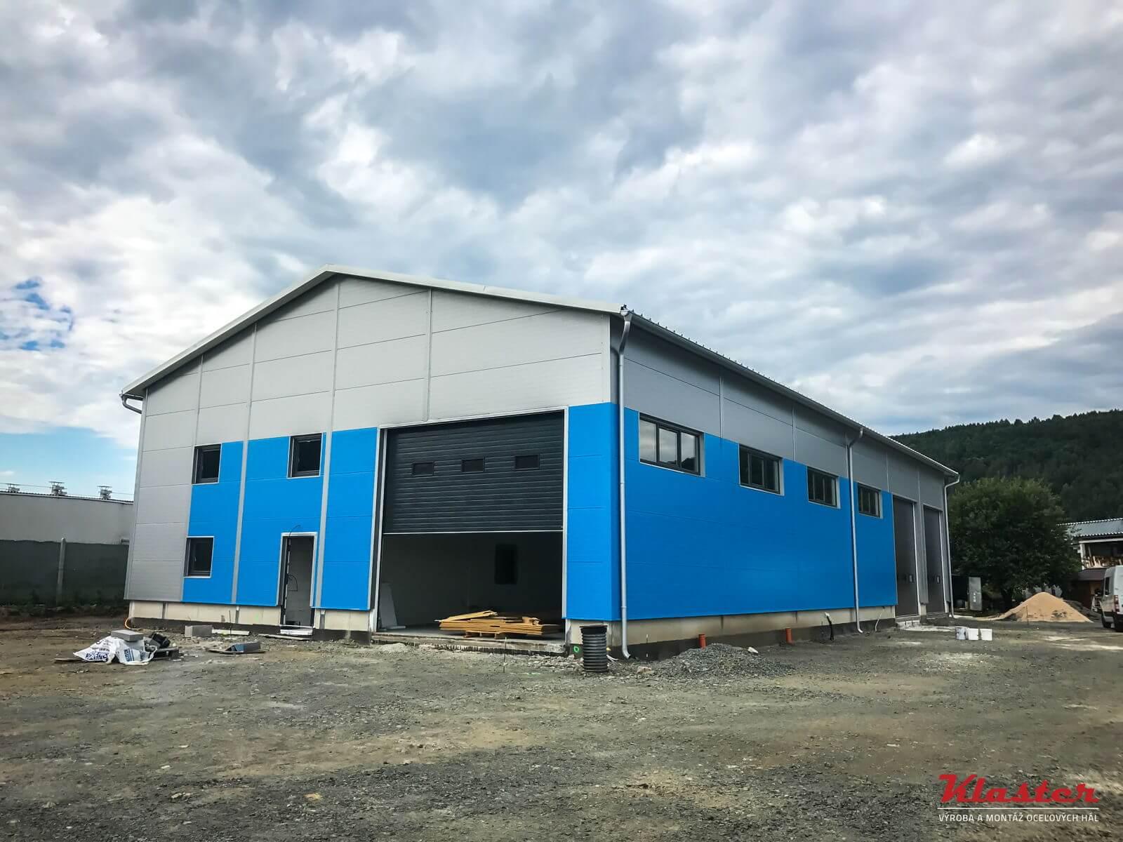 Opravárenská dielňa s administratívou – Veľký Šariš, Prešov