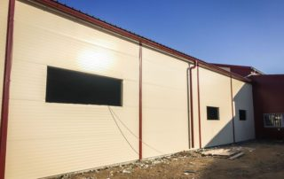 Prístavba skladových priestorov – Nemčice, Topoľčany