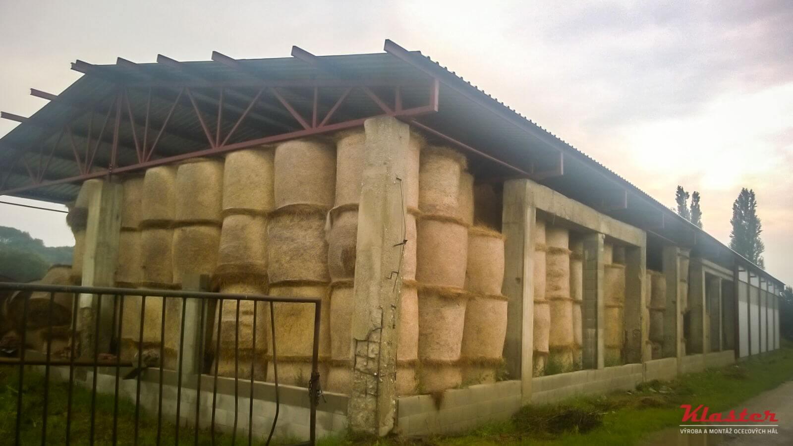 Prístrešok na uskladnenie sena – Lietavská Lúčka, Žilina