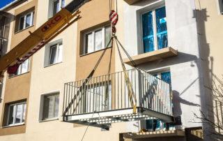 Závesné balkóny – Rimavská Sobota