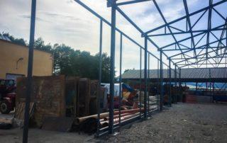 Sklad na stavebné stroje – Košťany nad Turcom, Martin