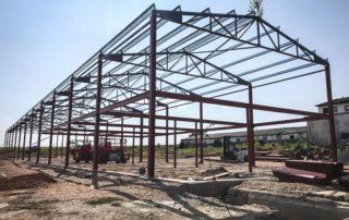 Výskumno-vývojová opravárenská dielňa s administratívnou časťou – Ožďany, Rimavská Sobota
